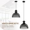 plafondlamp pendellamp hanglamp industrieel moderne stijl zwart(m-4)