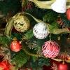 kerstboom dennenboom kerstboom met LED's glasvezelboom ster 8 model(m-7)