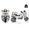 HOMCOM® Kindermotorrad 3–8 Jahre PP 87 x 41 x 54 cm Weiß(m-2)