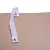 HOMCOM® Standregal Aktenregal Bücherregal Büroregal Holzregal Arbeitszimmer 4 Fächer Dunkelkaffee 80 x 29,5 x 180 cm(m-7)