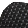 Outsunny® Schaukelstuhl Schwingsessel mit Fußstütze 3-fache Rückenlehne PE Rattan Schwarz(m-9)
