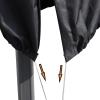 Outsunny® Schutzhülle für Sonnenschirm Ø300 cm Abdeckung Gartenschirm mit Reißverschluss(m-4)