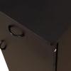 HOMCOM® Schreibtisch Bürotisch aus Holz Computertisch PC Tisch schwarz(m-8)