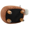 HOMCOM® Hocker für Kinder Kinderhocker Sitzhocker Polsterhocker im Tier-Design Giraffe(m-7)