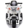 HOMCOM® Kindermotorrad 3–8 Jahre PP 87 x 41 x 54 cm Weiß(m-4)