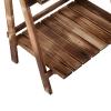 Outsunny® Pflanzentreppe L60 x W37 x H93cm 3 Stufen Tannenholz(m-7)