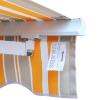 Outsunny® Markise Alu-Gelenkarm Gelenkarmmarkise 5 Farbe Sonnenschutz 3/3,5 /4/4,5m Balkon(m-11)