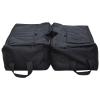 Outsunny® Sonnenschirmständer Schirmständer Sandsack 2 x Beutel befüllbar 100 kg mit 1 Schaufel 50 x 50 x 18 cm(m-3)