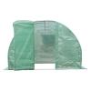 Outsunny® Gewächshaus Folie Foliengewächshaus 18m² Treibhaus 2 Fenster Gitterfolie(m-5)