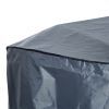 Outsunny® Gartenmöbel Abdeckplane Schutzhülle Abdeckung wasserdicht UV-Schutz Oxford-Gewebe Grau 235 x 135 x 94 cm(m-4)