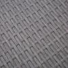 Outsunny® Rattan Gartenmöbel 5-tlg. Sitzgarnitur Outdoor-Sitzgruppe Loungeset Metall Grau(m-11)