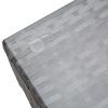Outsunny® Rattan Sitzgarnitur 4-tlg. Sitzgruppe Gartenmöbelset mit Couchtisch Metall Blau(m-10)