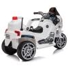 HOMCOM® Kindermotorrad 3–8 Jahre PP 87 x 41 x 54 cm Weiß(m-5)