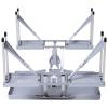 Stół kempingowy zestaw piknikowy składany 4 krzesła aluminium Outsunny(m-4)