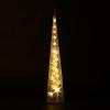 Homcom LED PIRAMIDA LED LAMPA OŚWIETLENIE 90 CM(m-2)