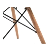 HOMCOM® ZESTAW 2 FOTELI RELAKSACYJNYCH LOUNGE KOKTAJLOWYCH TAPICEROWANYCH KRZESŁO PU+metal+drewno bukowe szary 49 x 47,5 x 76 cm(m-6)