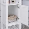 Szafka łazienkowa z 4 półkami Regał łazienkowy Regał do przechowywania z płyty wiórowej klasy P2(m-6)