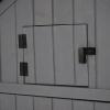 Szopa ogrodowa Duża szafka narzędziowa Altana ogrodowa Drewno Jodłowe Szary Czarny Outsunny®(m-11)